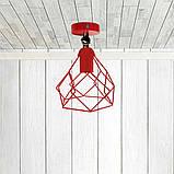 Светильник поворотный на 1-лампу RUBY/LS  E27 бра красный, фото 2