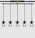 Подвесная люстра на 5-ламп SANDBOX-5 E27 белый, фото 7