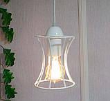 Подвесная люстра на 4-лампы SANDBOX-4 E27 белый, фото 7