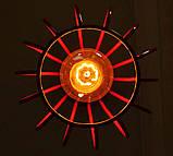 Подвесная люстра на 5-ламп FANTASY-5G E27 на круглой основе, красный, фото 4