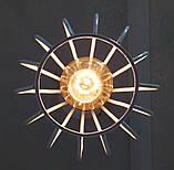 Подвесная люстра на 5-ламп FANTASY-5G E27 на круглой основе, белый, фото 5
