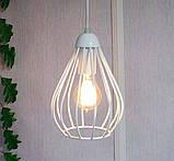 Подвесная люстра на 3-лампы FANTASY-3G E27 на круглой основе, белый, фото 2