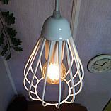 Подвесная люстра на 3-лампы FANTASY-3G E27 на круглой основе, белый, фото 3