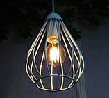 Подвесная люстра на 3-лампы FANTASY-3G E27 на круглой основе, белый, фото 4