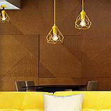 Подвесная люстра на 5-ламп RUBY-5G E27 на круглой основе, желтый, фото 2