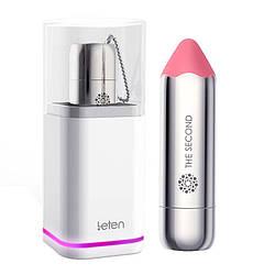 Вибропуля Leten The Second scented powder з індукційної зарядкою, водонепроникна, дуже потужна