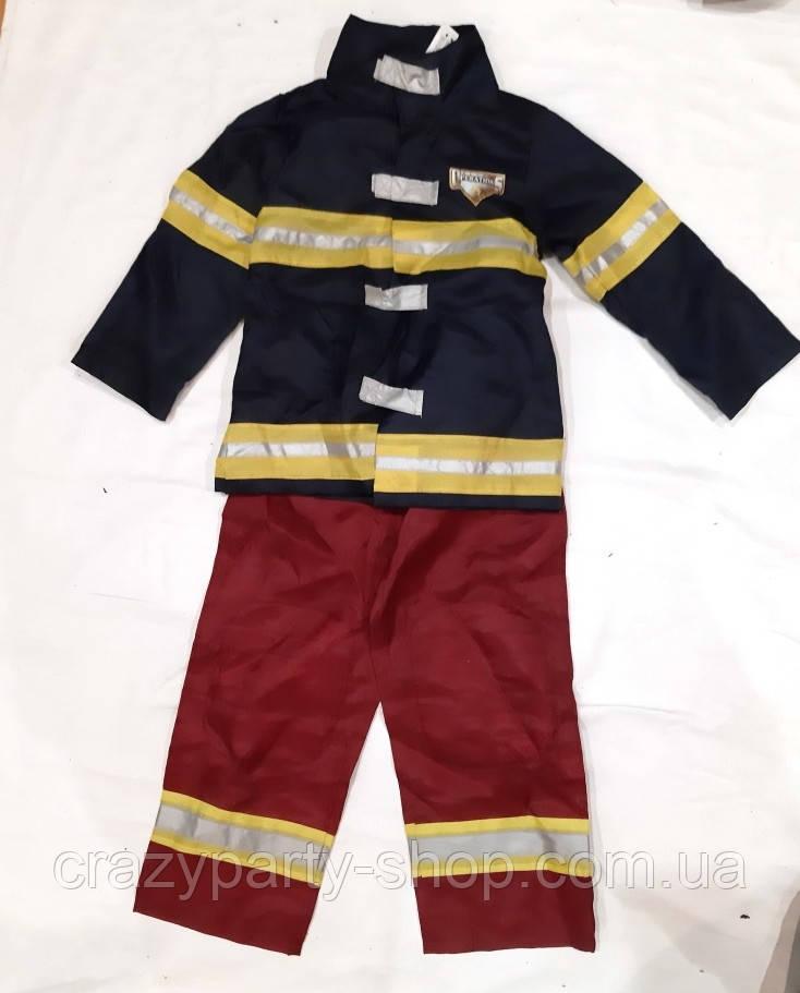 Костюм карнавальый Пожарник 116-122 см