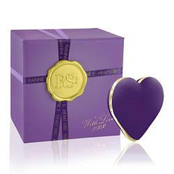Вібратор-сердечко Rianne S: Heart Vibe Purple, 10 режимів роботи, медичний силікон