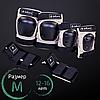 Комплект защиты взрослой для роликов и велосипеда Наколенники Налокотники Перчатки ZELART Серый (SK-4680) M