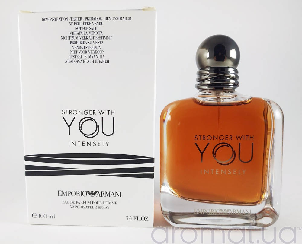 Тестер мужской Emporio Armani Stronger With You Intensely