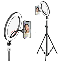 Светодиодное кольцо для фото, видеосъемки, селфи, для блогера LL-666
