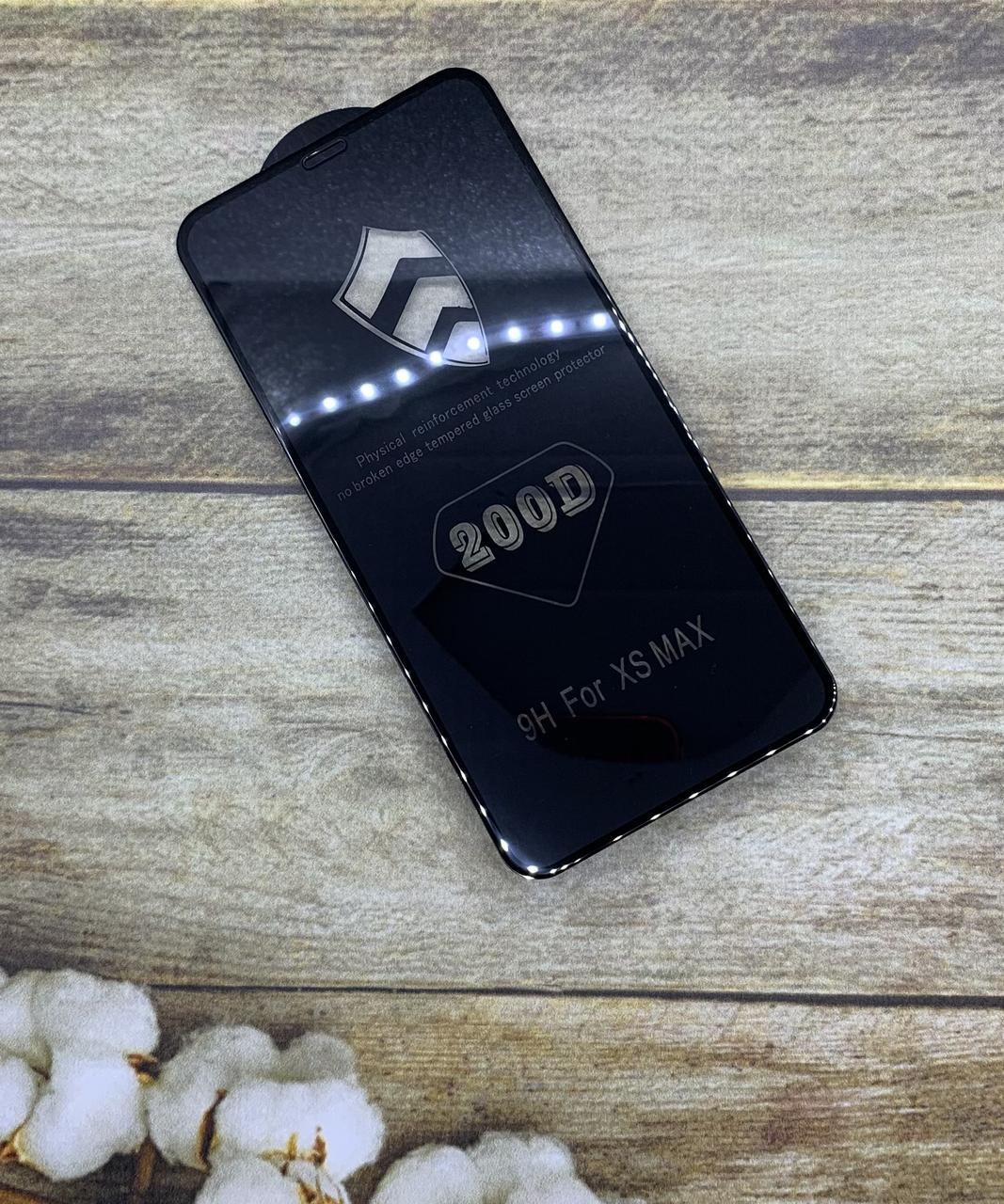 Защитное стекло на iPhone XS Max захисне скло Premium качество