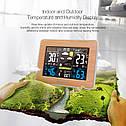 DIGOO DG-EX002 Метеостанция с часами, будильником и выносным датчиком температуры и влажности, фото 2