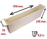 Кормушка внутрирамочная 3,3л с двумя плотиками, фото 2