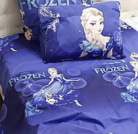 Семейное постельное белье-Фрозен и снеговик