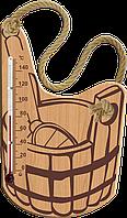 Термометр для сауны и бани, Стеклоприбор Ковш Украина