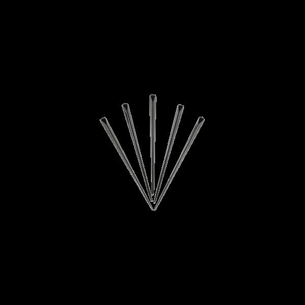 Шпажка для канапе черный кристал 500 шт