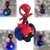 Детская игрушка машинка Super SPIDER Car Super CAPTAIN Car с диско-светом и музыкой