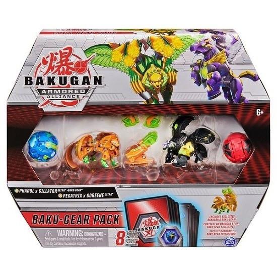 Набор из четырех бакуганов с оружием Фарол и Пегатрикс Bakugan Armored Alliance