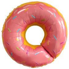 """Кулька 26"""" фольгована фігура """"Пончик, солодощі"""" Китай шт."""