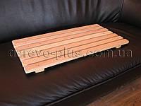 Решетчатый настил деревянный 70 см х 35 см