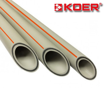 Полипропиленовая труба Koer Базальт стекловолокно 63х10,5