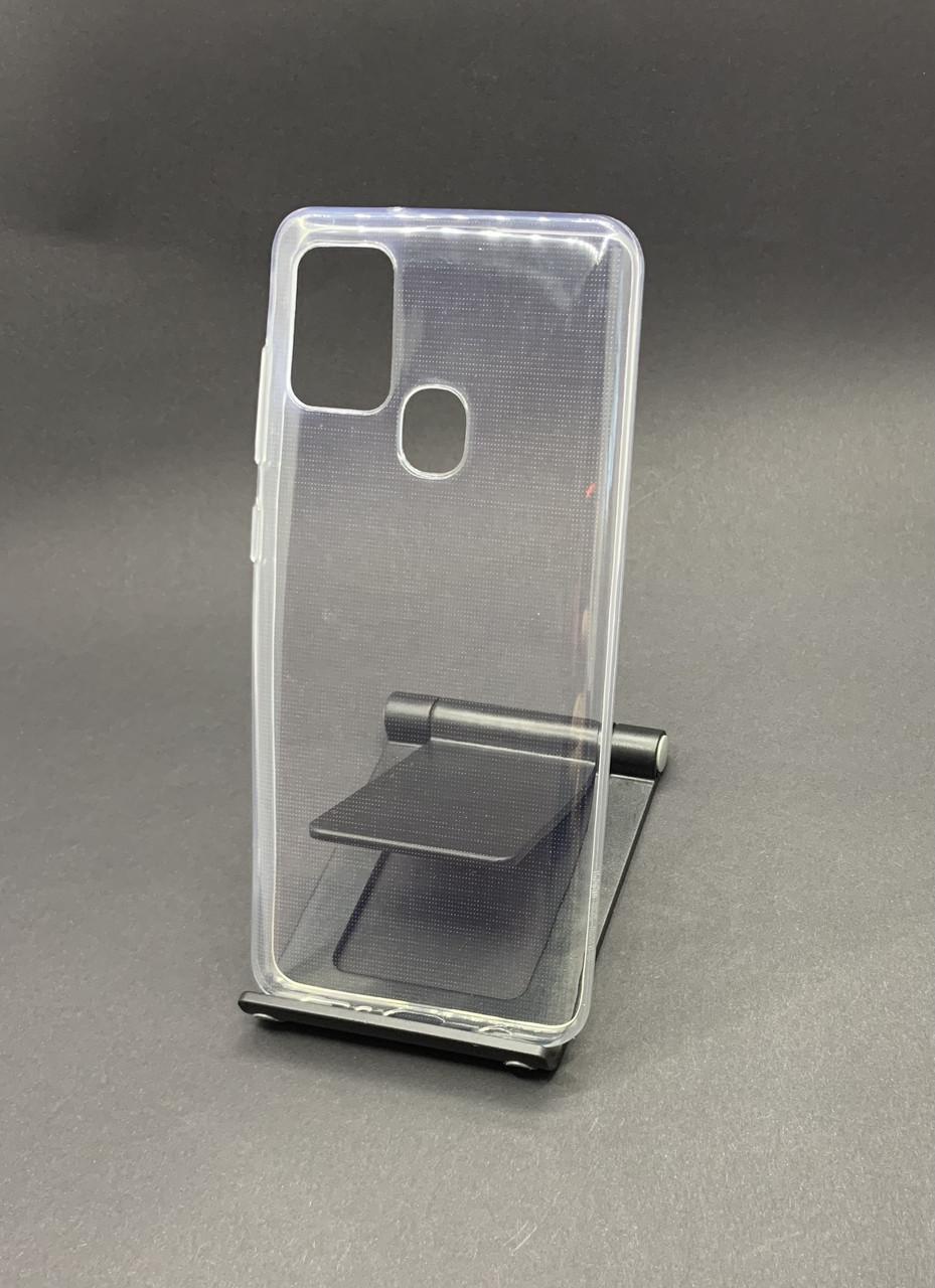 Чехол на Samsung A21S 2020 (A217F) прозрачный силиконовый  ультратонкий бампер/ накладка
