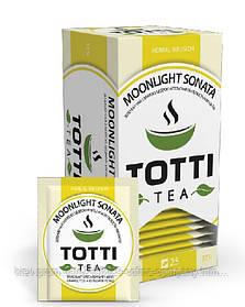 Чай травяной на основе зеленого чая TOTTI Tea «Лунная Соната», (1,5 г * 25)