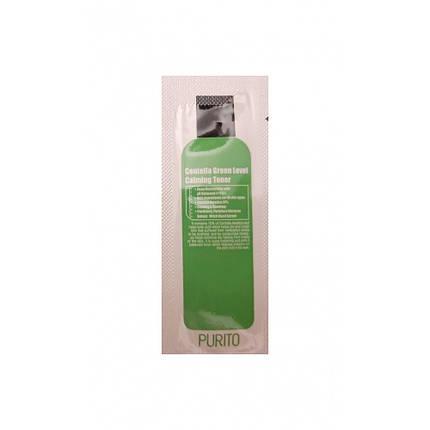 Бесспиртовый успокаивающий тонер с центеллой азиатской PURITO Centella Green Level Calming Toner (пробник), фото 2