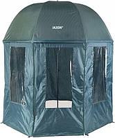 Зонт палатка водонепроницаемая для рыбалки 2,5 м - JAXON AK-PLX125TX, фото 1