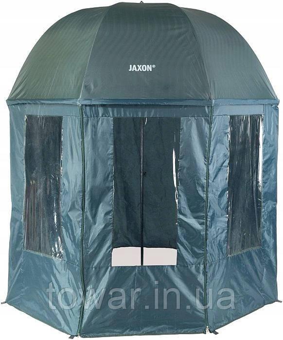 Зонт палатка водонепроницаемая для рыбалки 2,5 м - JAXON AK-PLX125TX