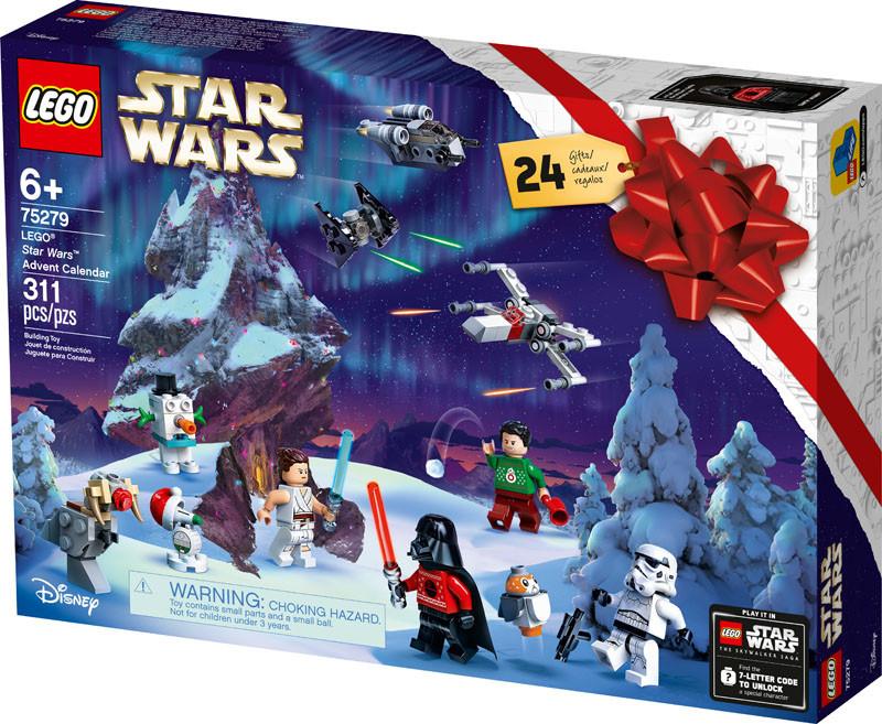 Різдвяний календар 2020 LEGO Star Wars  75279 (Новорічний календар 2020 Лего Стар Ворс 75279 )