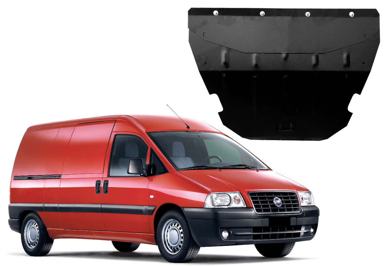 Защита двигателя Fiat Scudo I 1995-2007