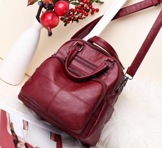 Оригинальная сумка рюкзак для модных девушек