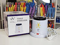 Стерилізатор кульковий-кварцовий Sterilizer 200 мл 75 Вт, Білий, фото 1