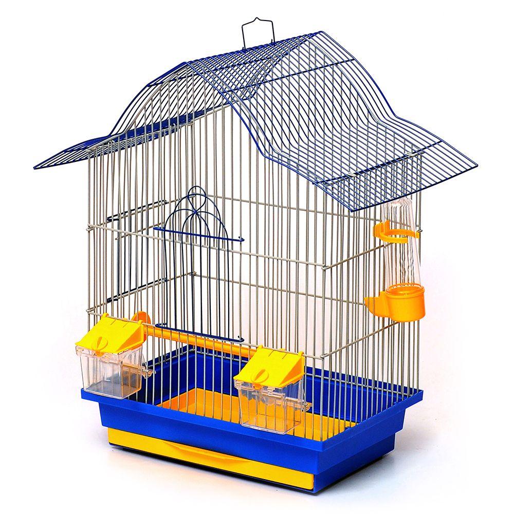 Клітка Мальва 330х230х450 мм (фарба) для птахів, Лорі До 049