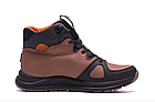 Кожаные зимние мужские ботинки в стиле MERRELL SLAB Olive, фото 7