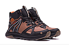 Кожаные зимние мужские ботинки в стиле MERRELL SLAB Olive, фото 6