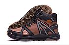 Кожаные зимние мужские ботинки в стиле MERRELL SLAB Olive, фото 8