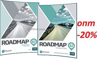 Английский язык / Roadmap/ Student's+Workbook. Учебник+Тетрадь (комплект), А2/ Pearson