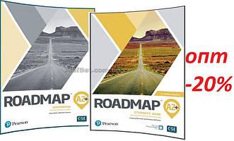 Английский язык / Roadmap/ Student's+Workbook. Учебник+Тетрадь (комплект), А2+ / Pearson