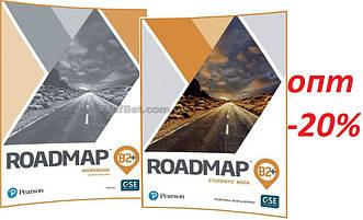 Англійська мова / Roadmap / student's+Workbook. Підручник+Зошит (комплект), В2+ / Pearson