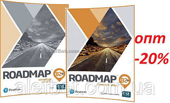 Английский язык / Roadmap/ Student's+Workbook. Учебник+Тетрадь (комплект), В2+ / Pearson