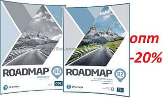 Англійська мова / Roadmap / student's+Workbook. Підручник+Зошит (комплект), В2 / Pearson