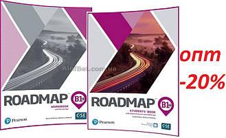 Английский язык / Roadmap / Student's+Workbook. Учебник+Тетрадь (комплект), В1+ / Pearson
