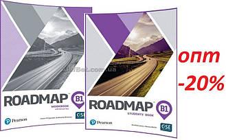 Английский язык / Roadmap / Student's+Workbook. Учебник+Тетрадь (комплект), В1 / Pearson