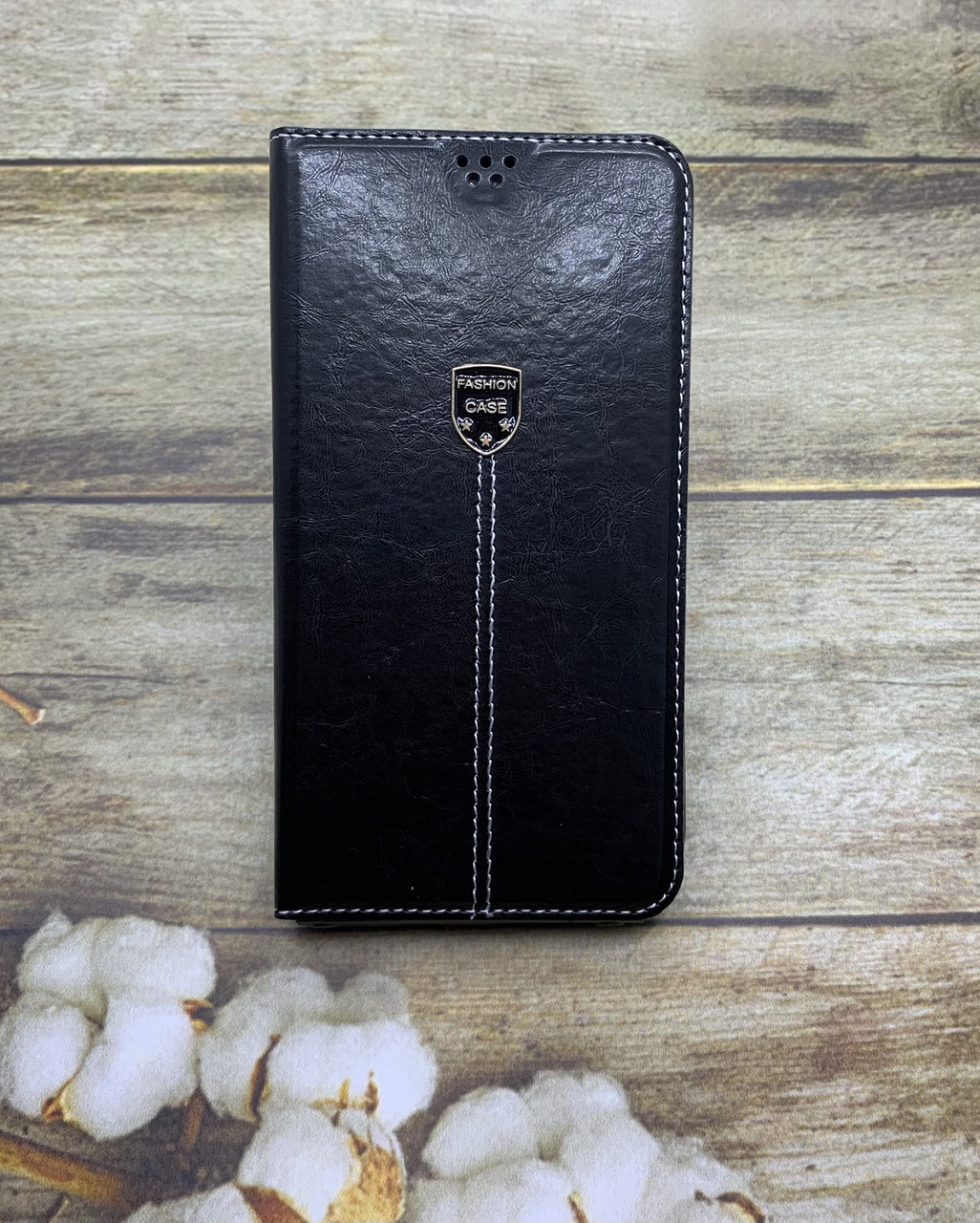 Чехол-книжка Samsung A01 2020 (A015F) черный флип бампер накладка
