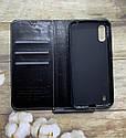 Чехол-книжка Samsung A01 2020 (A015F) черный флип бампер накладка, фото 2