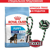 Royal Canin Maxi Puppy (Роял канин макси паппи) для щенков крупных пород 15кг + ПОДАРОК !