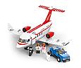 """Конструктор SLUBAN """"Частный самолет 28 см"""" 275 деталей, 4 фигурки, M38-B0365, фото 2"""